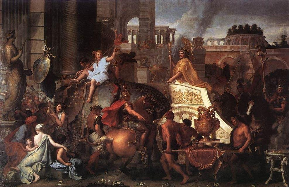Alexander entering Babylon (Charles Le Brun)
