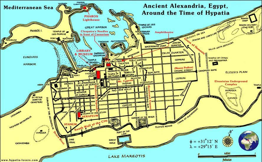 Ancient Alexandria in the years after Severus