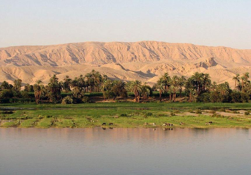 Fertile land of the Nile
