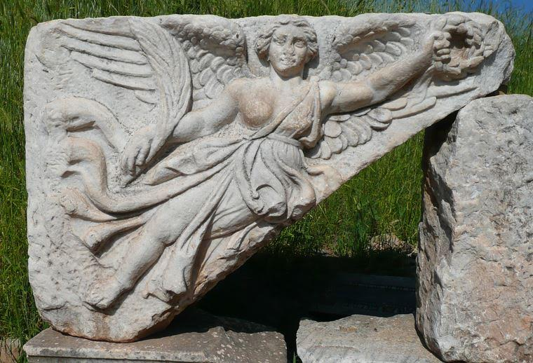 Goddess Nike, Ephesus (Wikimedia Commons)
