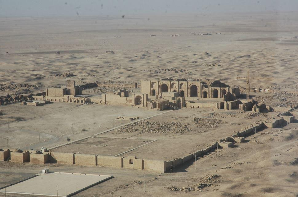 Hatra before the 2015 destruction