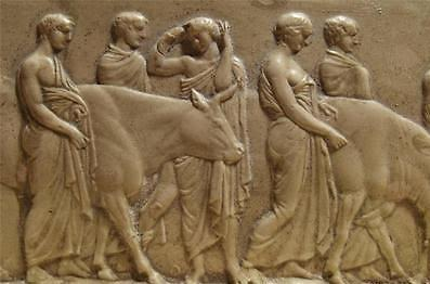 Relief of a sacrificial Hecatomb
