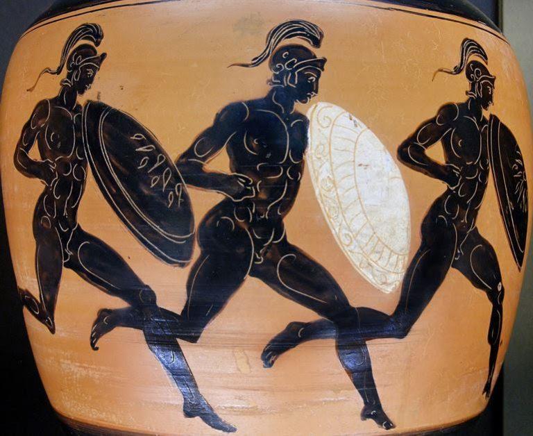 древние атлеты на олимпийских играх