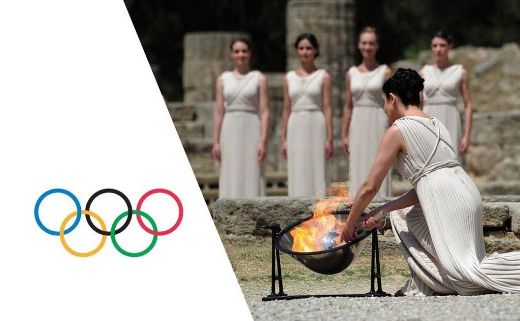 Olympic Flame Lighting - the tradition continues!