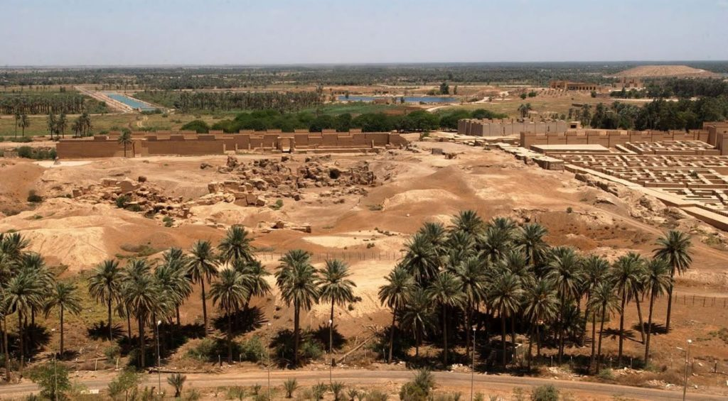 Ruins of Babylon (Wikimedia Commons)