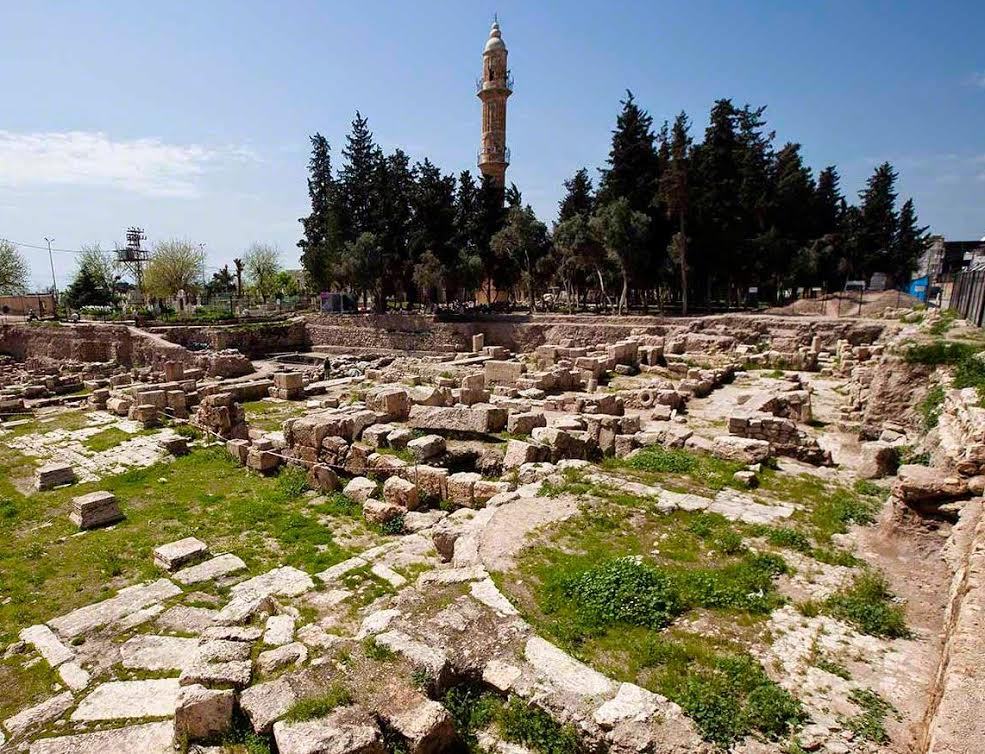Some ruins of Nisibis today