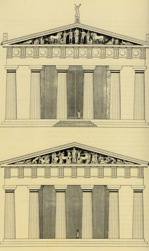Pediments of the Temple of Zeus at Olympia