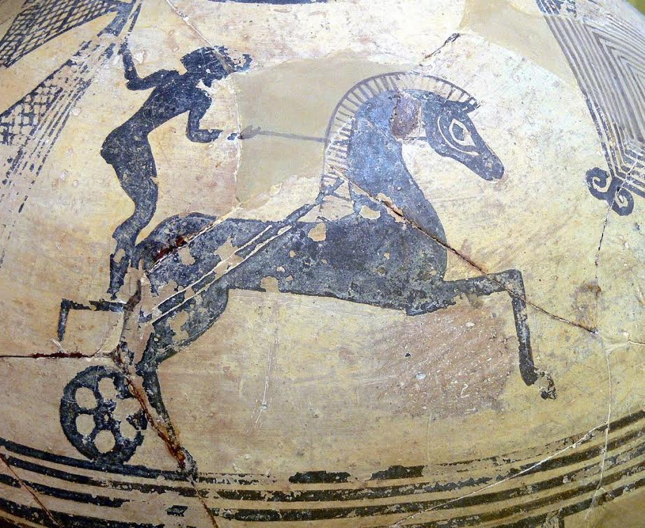 ancient charioteer