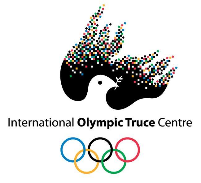 Modern IOC symbol for Olympic Truce - the tradition continues!