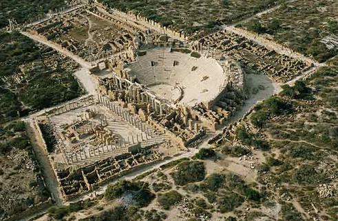Theatre of Leptis Magna
