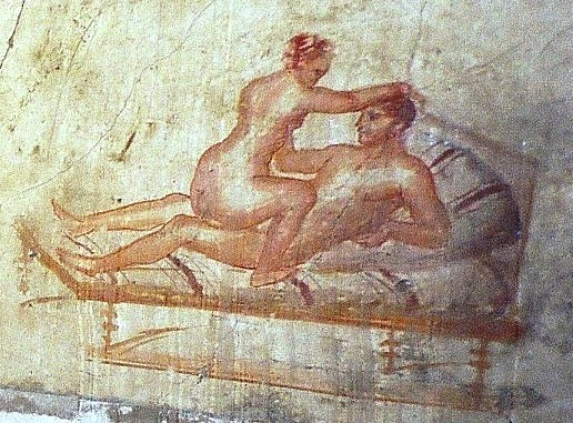 Wall painting from Pompeii