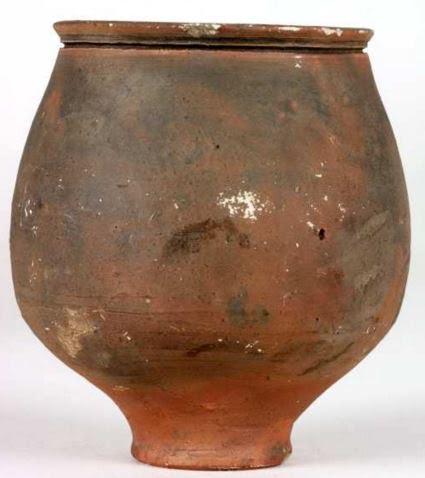 Plain Roman clay cup