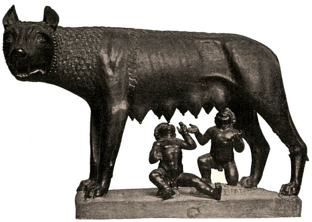 The She-Wolf, or 'lupa', suckling Romulus and Remus