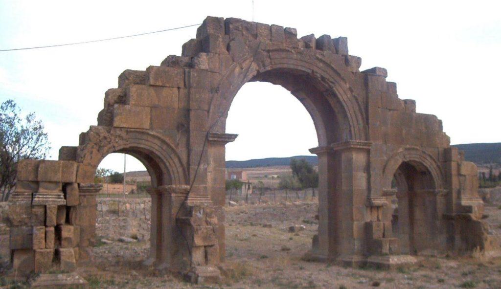 Arch of Septimius Severus at Lambaesis