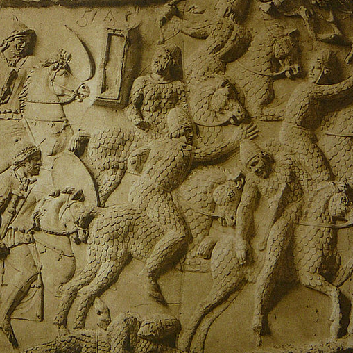Sarmatian Warriors on Trajan's Column