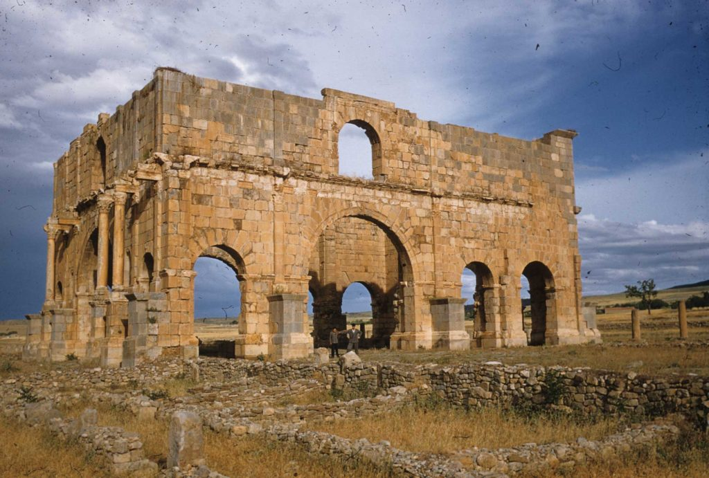 The Praetorium of Lambaesis