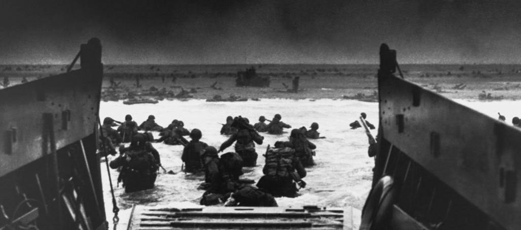 D-Day at Omaha Beach, Normandy