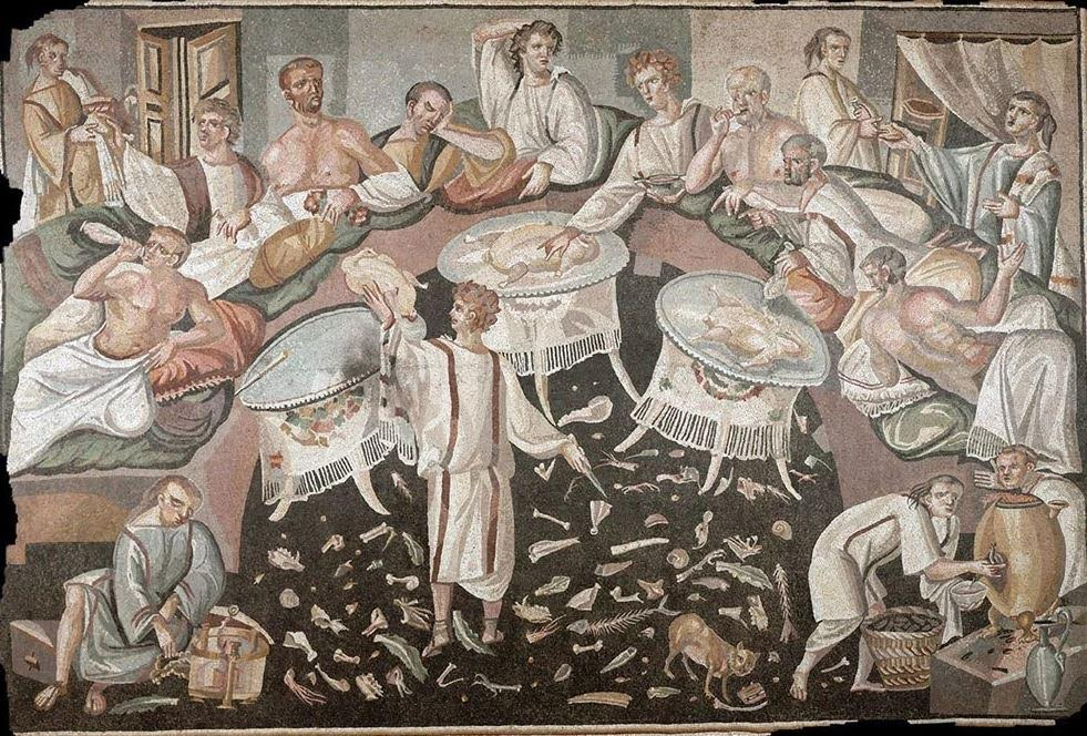 A Roman Banquet - spot the hints of garum!