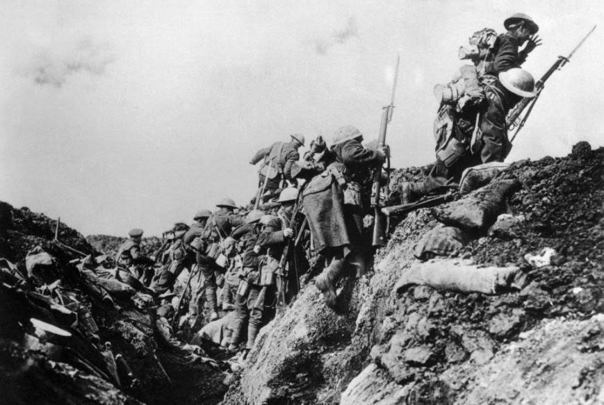 Out of the trenches in WWI