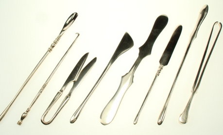 Re-created ancient surgical instruments