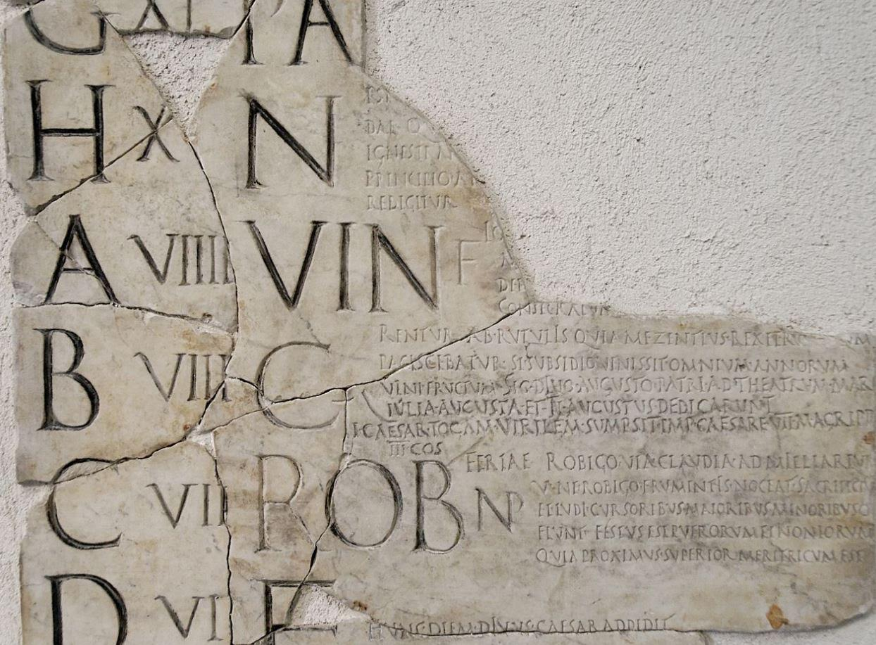 If You Ever Try To Read Roman Dates, You Will Also Notice That They Are  Always Abbreviated