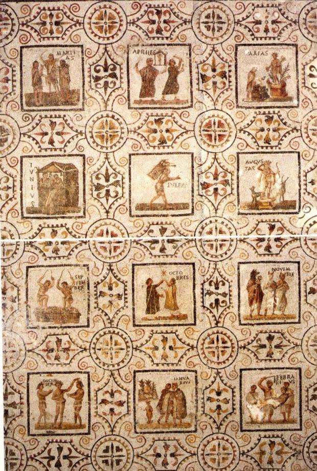 Roman Calendar.Ancient Everyday The Calendar In Ancient Rome